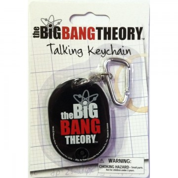 Talking Keychain by The Big Bang Theory