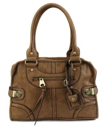 Vintage faux leather Satchel by Scarleton