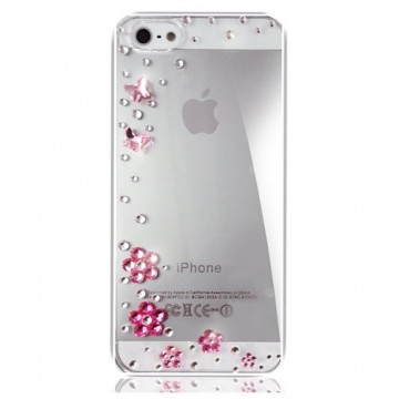 Swarovski Crystal Pink iPhone Cover