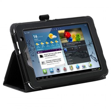 Leather Case for Samsung Galaxy Tab