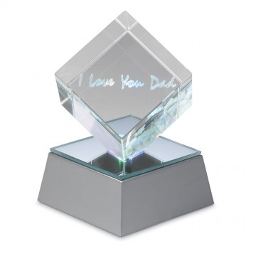 I Love You Dad Lighted Acrylic Cube
