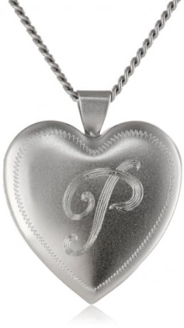 Rhodium Personalized Necklace for Her