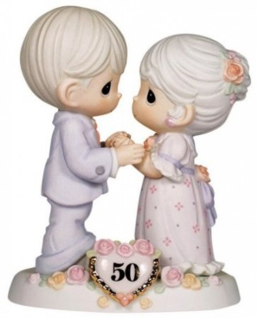 "Precious Moments ""We Share A Love Forever Young"" Figurine"