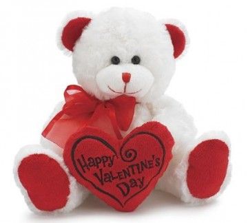 """Happy Valentines Day"" Teddy Bear"