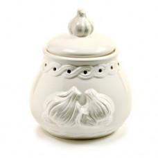 Norpro-254-White-Stoneware-Garlic-Keeper-Off-White