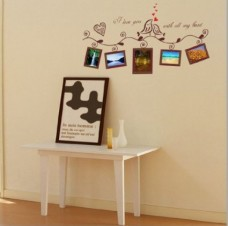 Lovebirds-photos-wall-photo-frame-living-room-bedroom-sofa-TV-backdrop-wall-sticker-decals