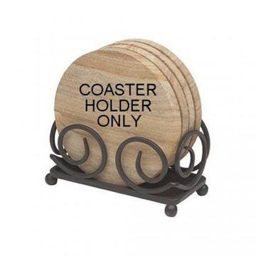 Dark Scroll Coaster Holder