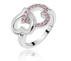 Lingstar-TM-New-Arrival-Heart-To-Heart-Diamond-Crystal-Ring-Women-Finger-Ring