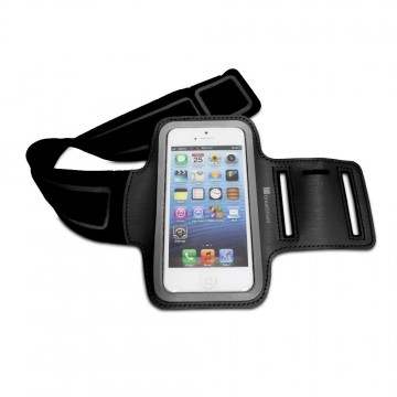 Stretchable Neoprene Sport Armband Case with Key Storage for Apple iPhone 5 / iPod Touch 5th Generation