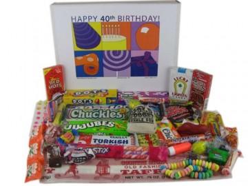 40th Birthday Gift Basket