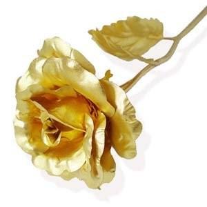Gold Foil Rose - Best Valentine
