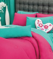 Limited-Edition-PARIS-Bedding-Collection-Reversible-Comforter-Set-Sheet-Set-and-Window-Panels-FULL-QUEEN