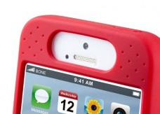 Bone-Collection-Horn-Bike-5-Sound-Amplifier-For-iPhone5-Red