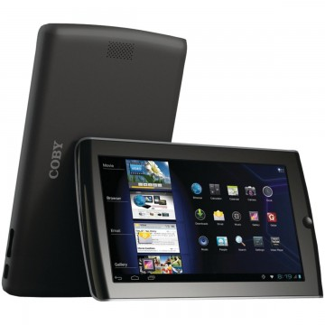 Coby Kyros Tablet (7-Inch Android 4.0 4 GB Internet 16:9 Resistive Touchscreen, Black MID7034-4)