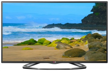 LG Electronics 50LA6200 50-Inch Cinema 3D 1080p 120Hz LED-LCD HDTV with Smart TV and Four Pairs of 3D Glasses
