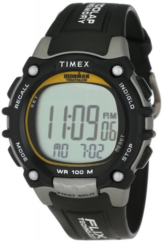Mens Timex Ironman Flix 100 Lap Watch - Gift for guys guy