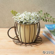 Coffee-Cup-Planter-Plant-Container