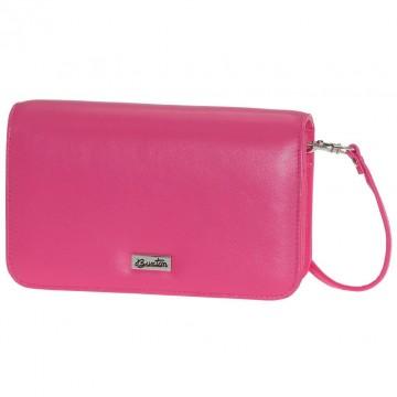 Check Clutch Mini Bag On A String By Buxton