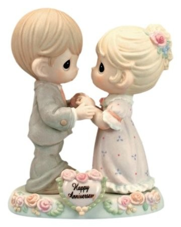 """Precious Moments """"Our Love Was Meant To Be"""" Figurine"""