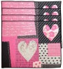 Hearts Patchwork Table Runner