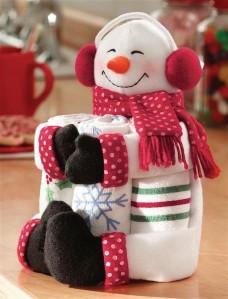 Collections-Etc-Snowman-Kitchen-Towel-Gift-Set