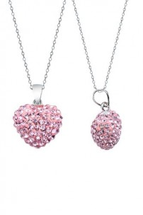 Authentic-Pink-Sapphire-Color-Heart-Shape-Pendant-Crystals