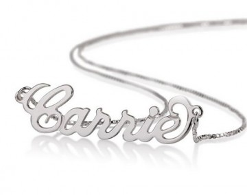Sterling Silver Necklace, Custom Made for your loved ones