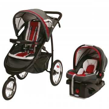 FastAction Fold Jogger Click Connect Travel System/Click Connect