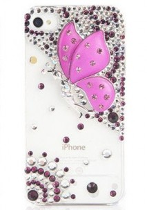 Designer-Bling-Crystal-Angel-Wing-Genius-Case-Cover-for-Apple-iPhone
