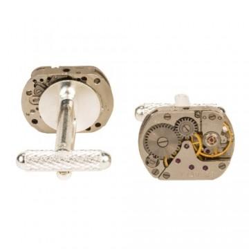 Watch Mechanism Cufflinks