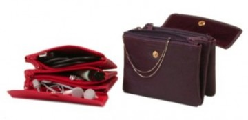 Leather Makeup Jewellery Travel Case