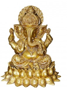 14-Ganesha-Statue-Yoga-Brass-Sculpture-Ganesh-Seated-in-Royal-Ease-Posture-Gift-for-spiritual-person-