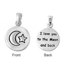 Sterling-Silver-I-Love-you-to-the-Moon-Pendant