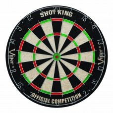 Viper-Shot-King-Sisal-Fiber-Bristle-Dartboard