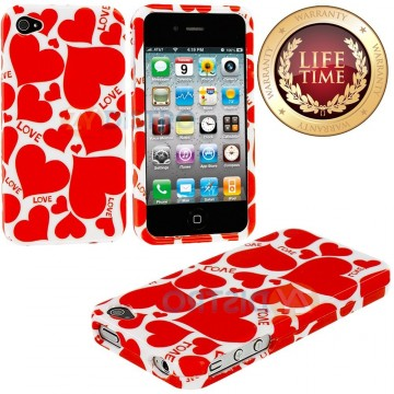 Hardshell Plates Case for the iPhone 4/4S (4G)