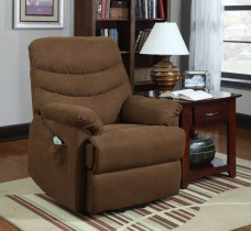 Homelegance-Elevated-9769BR-1LT-Power-Lift-and-Recline-Chair-Chocolate-Brown-Microfiber