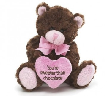 Pink & Brown Little Teddy Bear