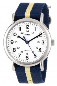 Timex-Unisex-Weekender-Watch-with-Navy-and-Tan-Nylon-Strap