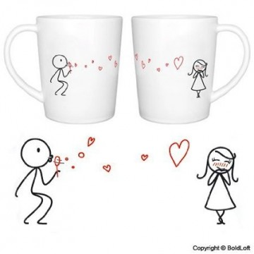 Cup Set for Lovers by BoldLoft