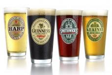 ARC-International-Luminarc-Irish-Beer-Label-Pub-Beer-Glass