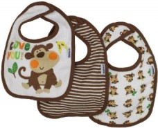 Baby-Boys-3-Pack-Terry-Dribbler-Bib-Monkey