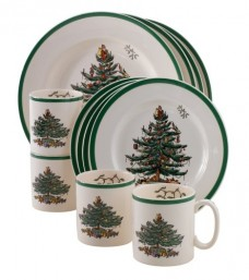 Spode-Christmas-Tree-12-Piece-Dinnerware-Set-Serves-4