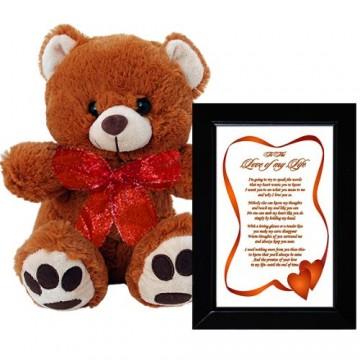 I Love You Gift for Wife, Husband, Boyfriend or Girlfriend - Birthday, Anniversary or Valentine