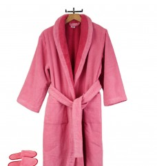 Faccia-dei-Colori-Luxury-European-Bathrobe-Slippers