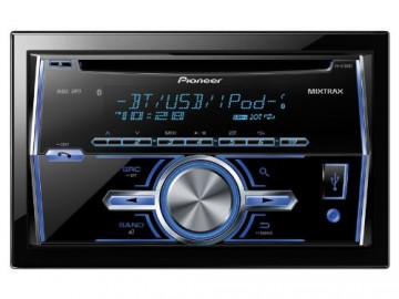 Double DIN CD/MP3/USB Car Stereo Receiver w/ Bluetooth (MIXTRAX & iPod Support)