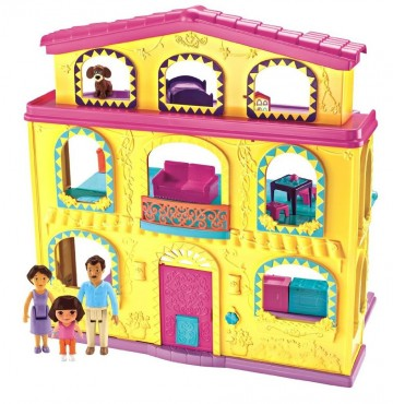 Fisher-Price Dora The Explorer: Playtime Together Dora and Me Dollhouse