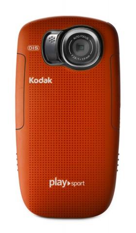 kodak playsport hd waterproof pocket video camera red